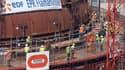 Jusqu'à 500 ouvriers étrangers auraient travaillé au noir sur le chantier de l'EPR de Flamanville.