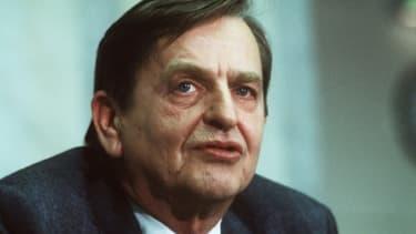 Olof Palme, le 12 décembre 1983 à Stockholm