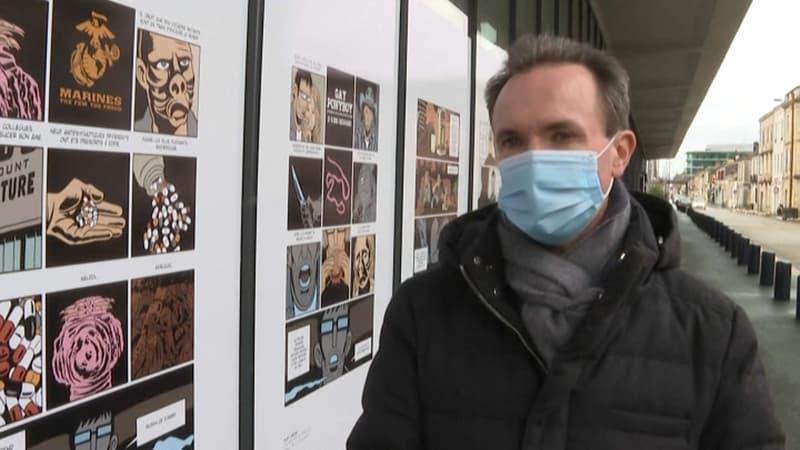 Festival d'Angoulême: des planches de BD affichées dans des gares au cours du mois