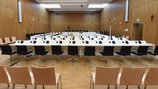 Un tribunal en Allemagne.