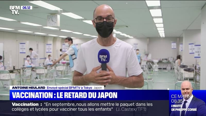 Covid-19: à la veille de l'ouverture des JO de Tokyo, seulement 22% des Japonais sont totalement vaccinés