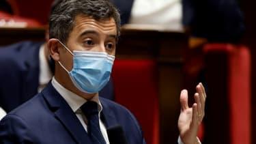 Le ministre de l'Intérieur, Gérald Darmanin, le 2 mars 2021 à Paris