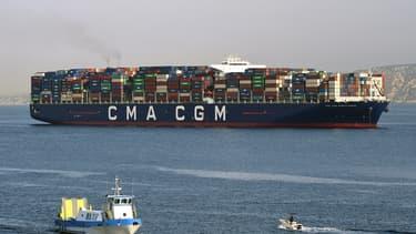 Le siège social de CMA-CGM est sis à Marseille.