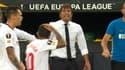 Conte et Banega lors de Séville-Inter