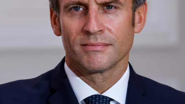 Emmanuel Macron à Paris le 28 septembre 2021