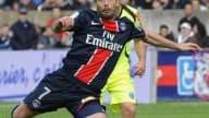 Le Parisien Ludovic Giuly marqueur le week-end dernier à Montpellier n'imagine pas autre chose qu'une victoire samedi au Parc des Princes contre Le Mans.
