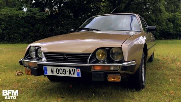 En 1975, la CX est l'héritière de la DS.