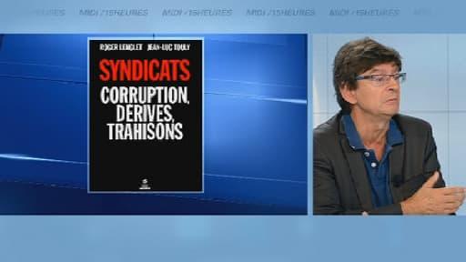 Jean-Marc Touly, co-auteur d'une enquête au vitriol sur les syndicats, mercredi sur BFMTV.