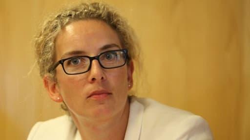 La ministre de l'Ecologie, Delphine Batho, souhaite favoriser le déplacement en vélo des salariés.