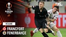 Résumé : Francfort 1-1 Fenerbahçe - Ligue Europa J1