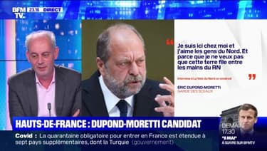 Hauts-de-France: Dupond-Moretti candidat - 07/05
