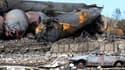 L'explosion du convoi a causé d'important dégâts et fait 15 morts à Lac-Mégantic.