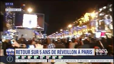 Retour sur cinq ans de réveillon à Paris