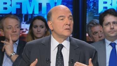 Pierre Moscovici, le ministre de l'Economie, était l'invité de BFMTV ce 9 mars
