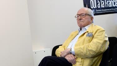 Le président d'honneur du Front national Jean-Marie Le Pen