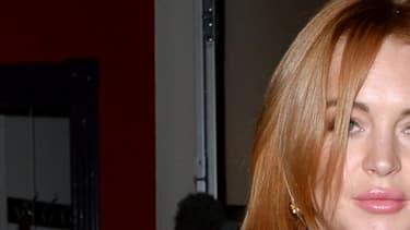 Lindsay Lohan, le 20 janvier 2014