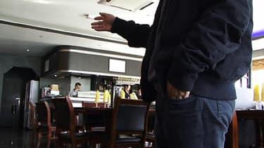 Le gérant du restaurant braqué, samedi à Ormoy, explique comment l'agression s'est passée. Les braqueurs étaient cagoulés et vêtus de noir.