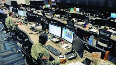 Le centre d'opération cyber de Fort Gordon, Georgia