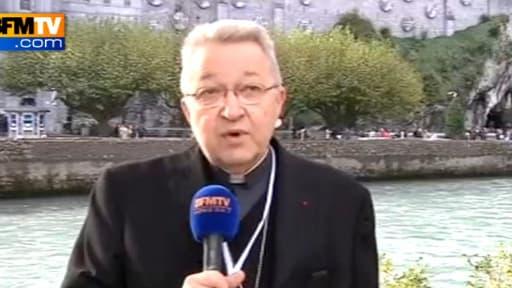 """Monseigneur André Vingt-Trois s'est inquiété d'une dérive """"marchande"""" lié à l'adoption par des couples homosexuels."""