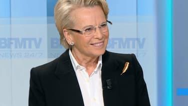 Michèle Alliot-Marie était l'invité de BFMTV