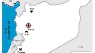 CINQ MANIFESTANTS TUÉS À HAMA EN SYRIE