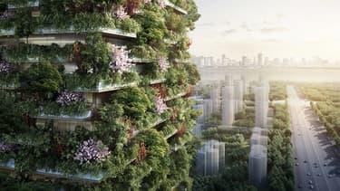 La Chine va construire deux tours végétales.