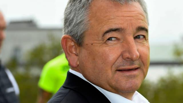 Denis Le Saint, président de Brest
