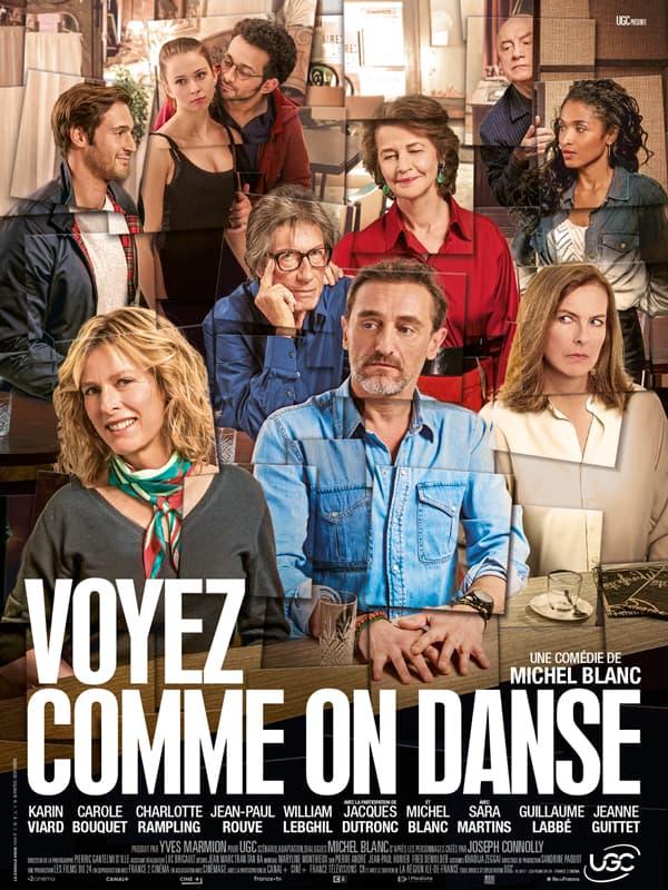 Affiche de Voyez comme on danse de Michel Blanc