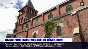 À Calais, habitants et associations se battent pour empêcher la démolition de l'église Saint-Germaine
