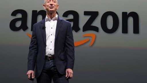 Jeff Bezos, le PDG d'Amazon.