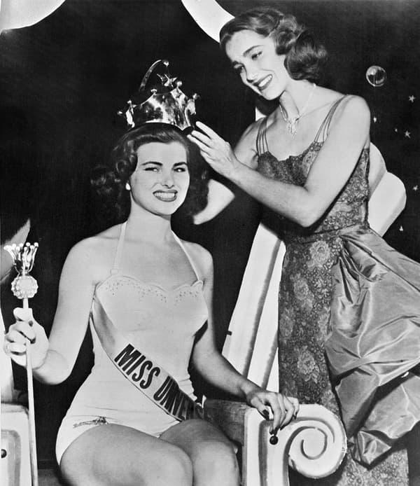 Christiane Martel, seule Française a avoir été Miss Univers
