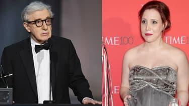 Woody Allen et Dylan Farrow