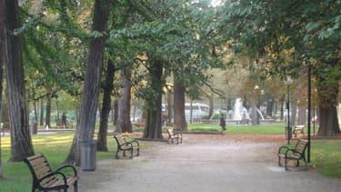 Le parc du Vernay en plein coeur de Chambéry