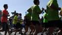 Cette année, 60.000 personnes se sont inscrites pour participer au marathon de Paris