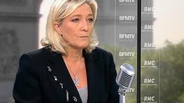 Marine Le Pen, la présidente du Front national, souhaite que le président ne puisse pas aller en justice durant son mandat.