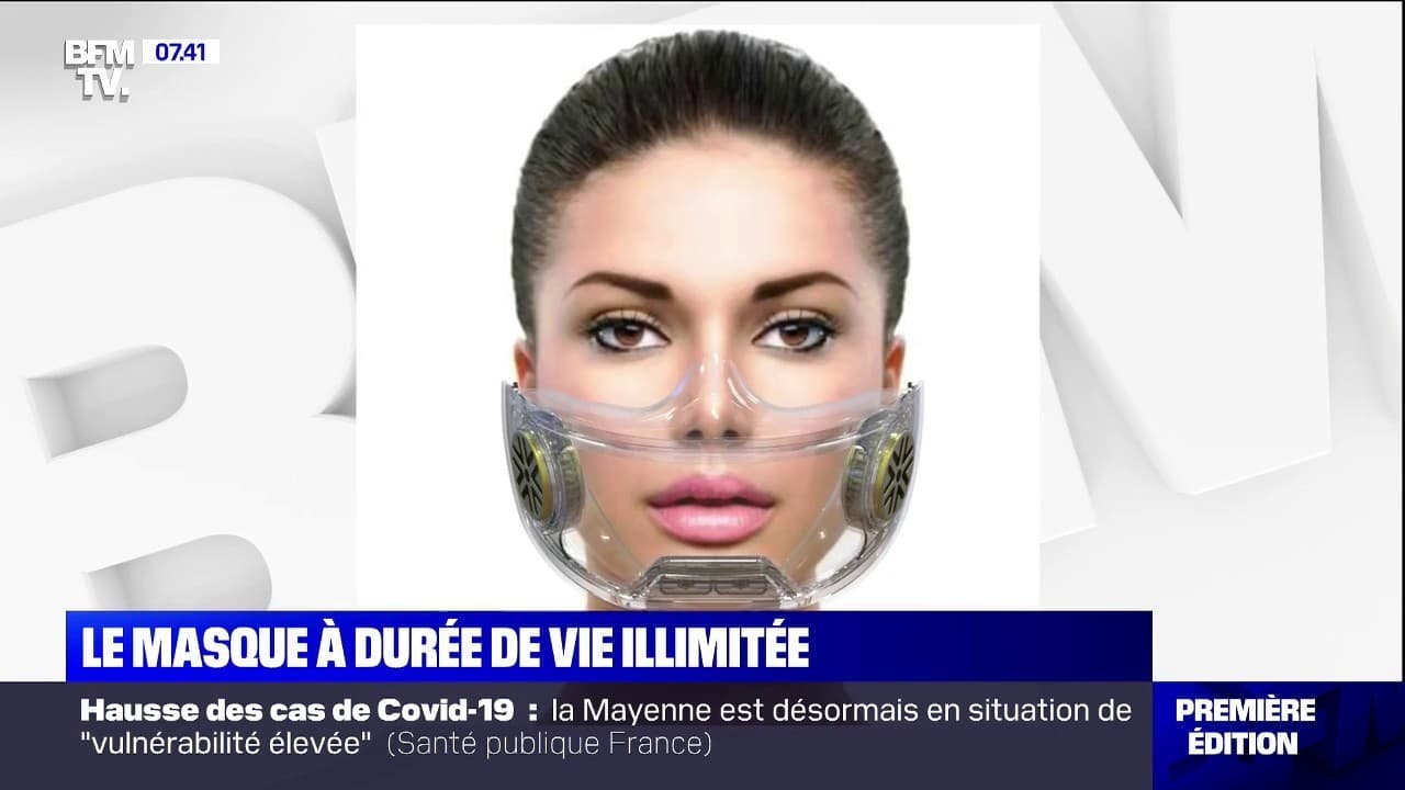 Deux entreprises de Haute-Savoie inventent un masque réutilisable à vie
