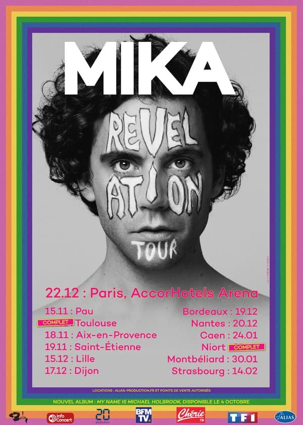 La tournée française de Mika