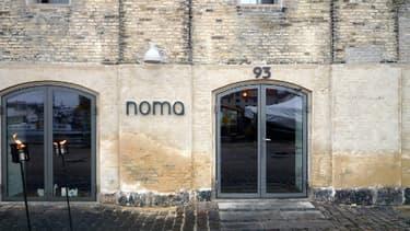 L'entrée du restaurant Noma à Copenhague, au Danemark