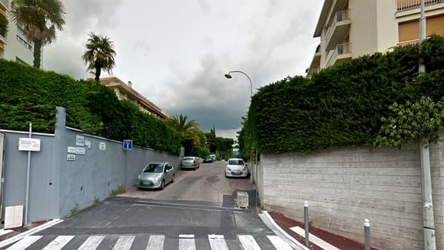 L'avenue Sainte-Claire à Nice où selon Nice Matin se situe le logement que les deux expulsées occupaient.
