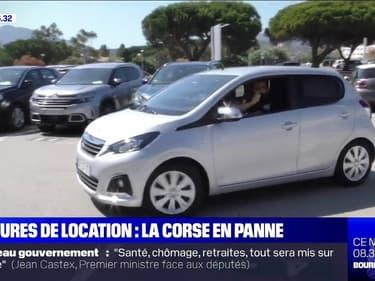 Pourquoi la Corse fait face à une pénurie de voitures de location