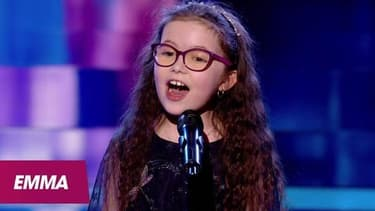 Emma, gagnante de The Voice Kids