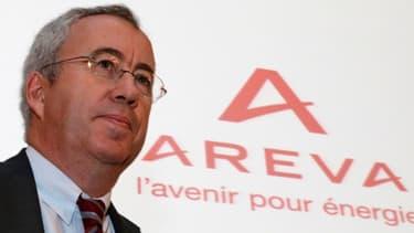 Luc Oursel, président du directoire d'Areva a évoqué un contrat qui pourrait représenter 1.500 emplois