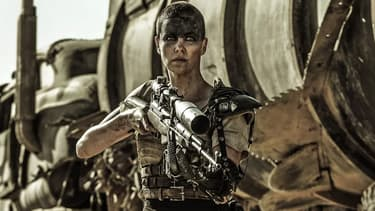 Charlize Theron dans Mad Max Fury Road