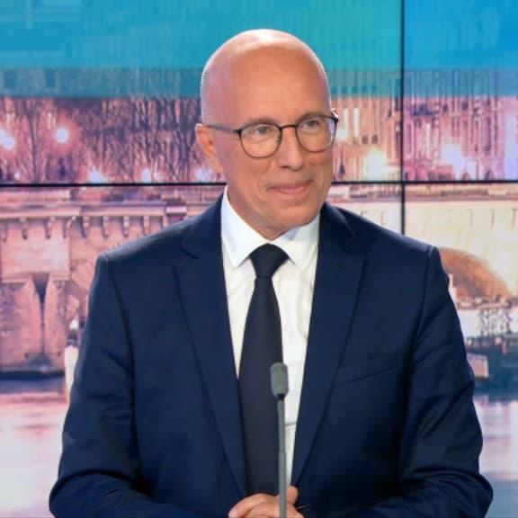 """Pour Ciotti, seul """"un candidat issu de la droite républicaine"""" pourra battre Macron en 2022"""
