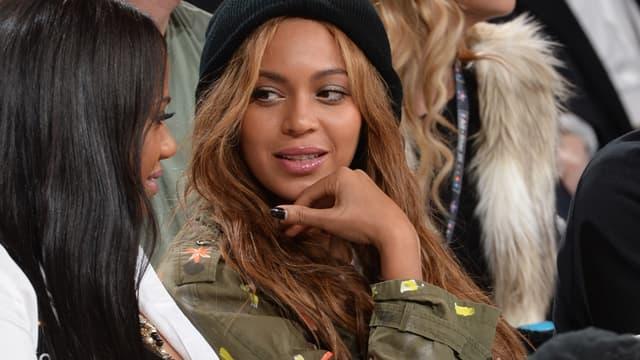 La chanteuse Beyoncé au NBA All Star week-end, le 15 février 2015.