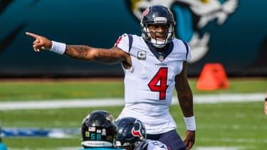Deshaun Watson sous le maillot des Texans de Houston en NFL
