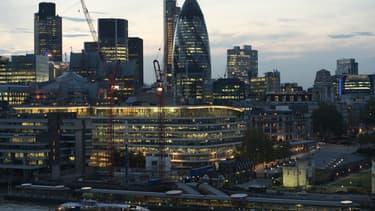 Le quartier de la City à Londres.