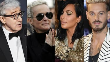 Woody Allen, Laeticia Hallyday, Kim Kardashian et M. Pokora