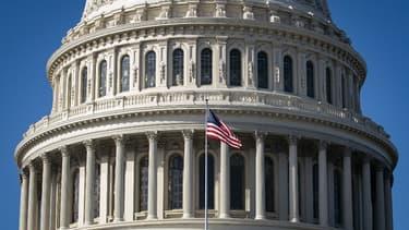 Le Capitole où siègent les sénateurs américains