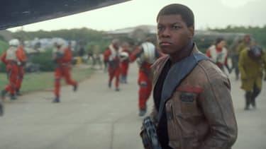 John Boyega dans le rôle de Finn (Star Wars)